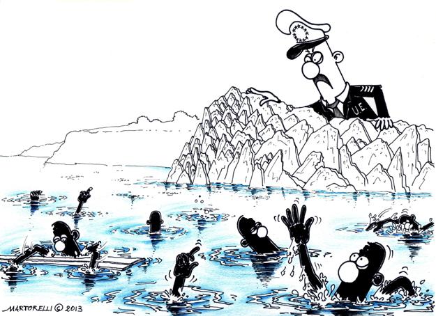 Il balcone di Lampedusa – 2013 – china